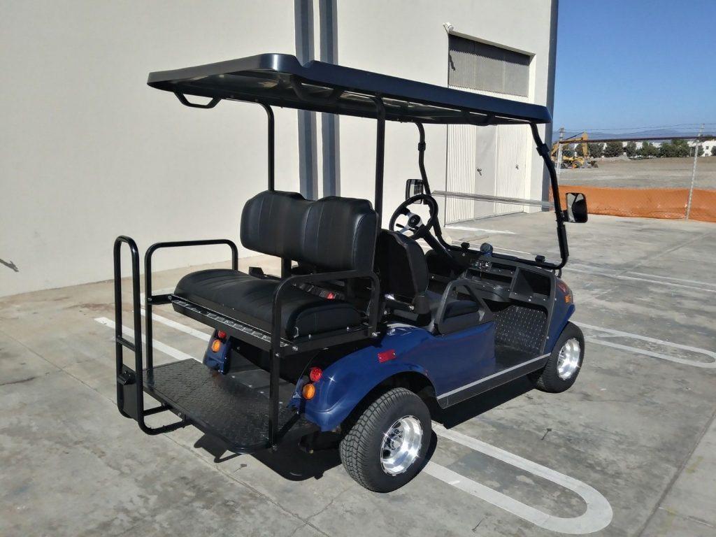 loaded 2018 Evolution EV Golf Cart