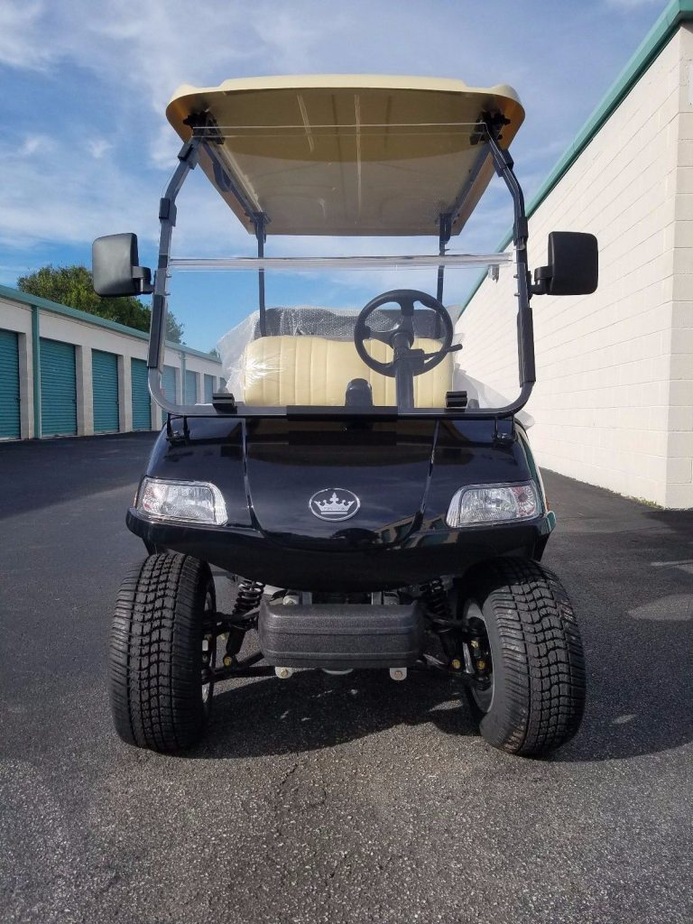 loaded 2018 Evolution Golf Cart