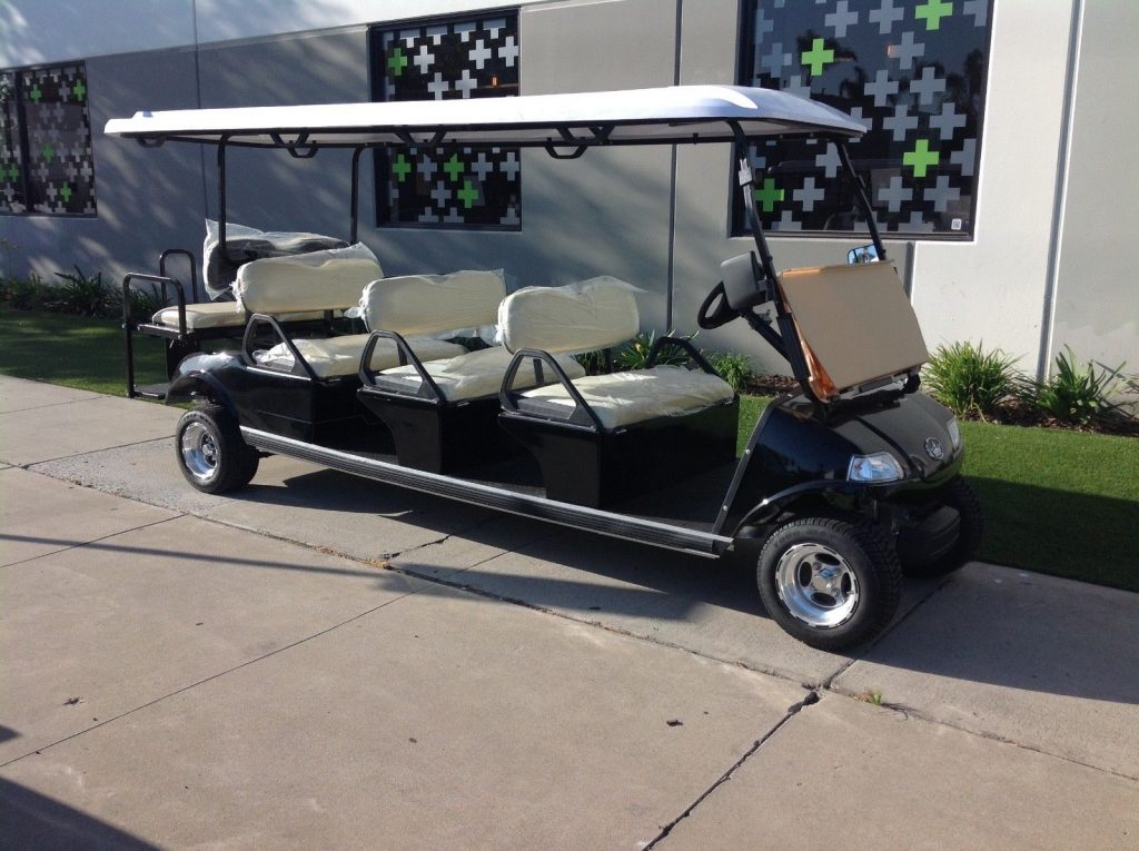 very nice 2017 Evolution limousine Golf Cart