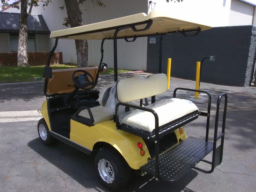 well equipped 2018 Evolution EV Golf Cart