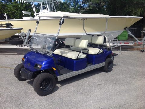 lifted 2006 Yamaha golf cart for sale