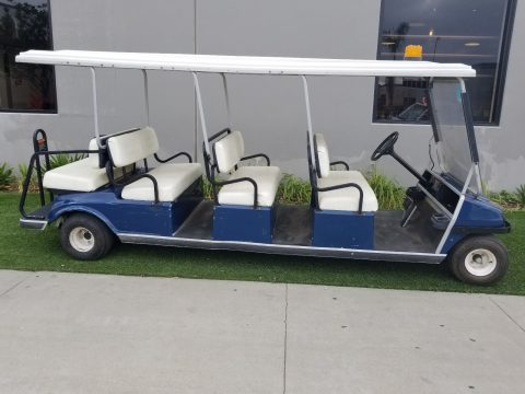 ready to drive 2002 Club Car Villager 8 Passenger golf cart for sale