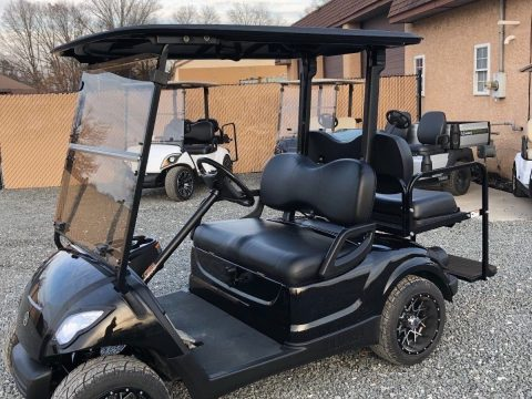 Custom Paint 2011 Yamaha golf cart for sale