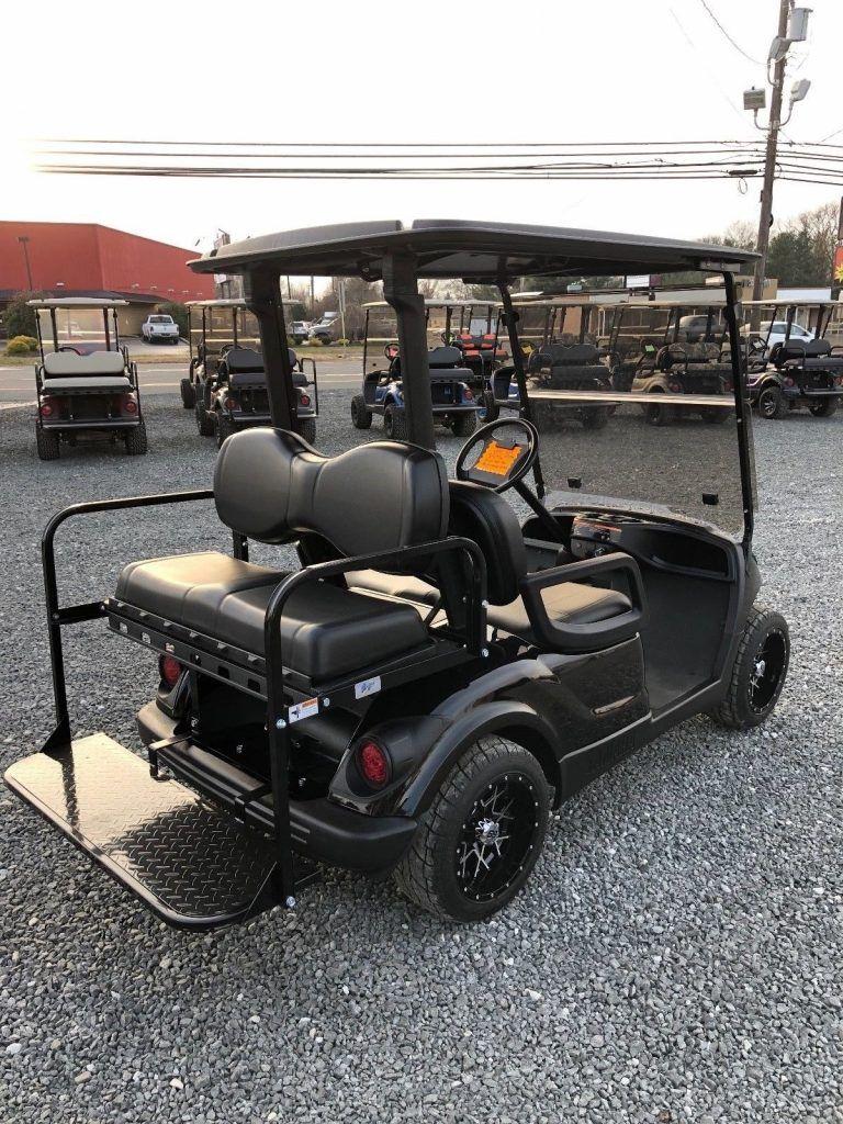 Custom Paint 2011 Yamaha golf cart