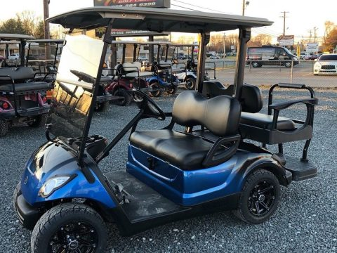 custom painted 2011 Yamaha golf cart for sale