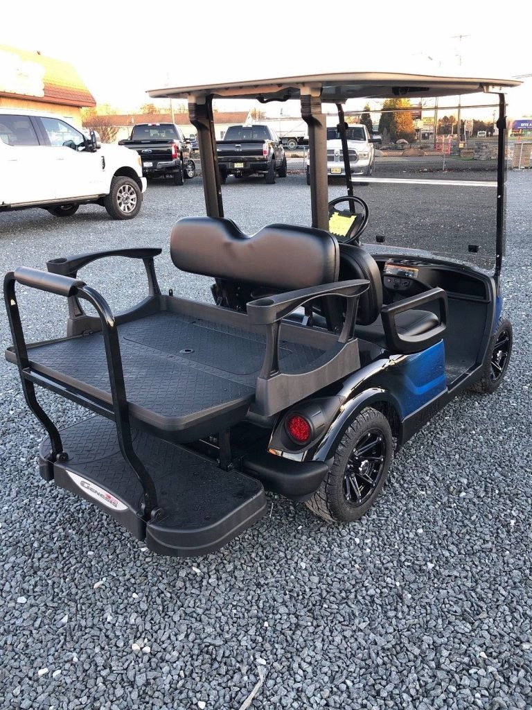 custom painted 2011 Yamaha golf cart