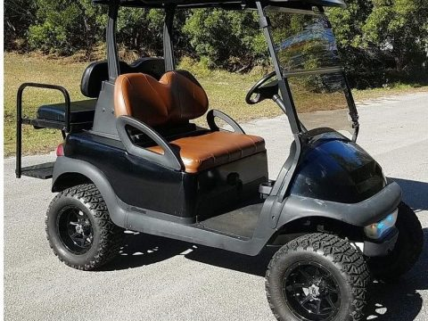 lifted 2009 Club Car Precedent Golf Cart for sale