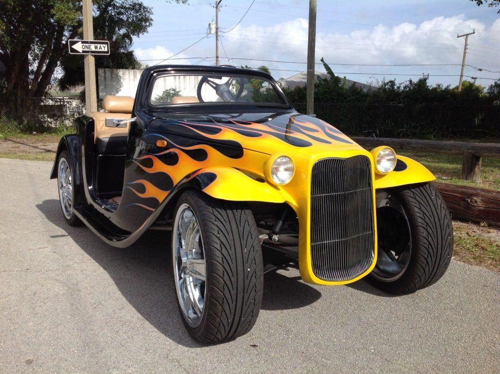 custom 2012 Acg California Roadster Golf Cart