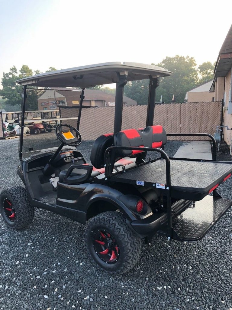 custom paint 2012 Yamaha 48v electric golf cart