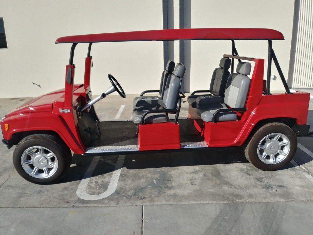 fast 2012 Acg Hummer H3 Golf Cart