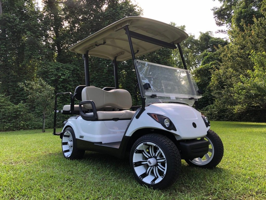 Fuel Injected 2014 Yamaha Drive Gas Golf Cart