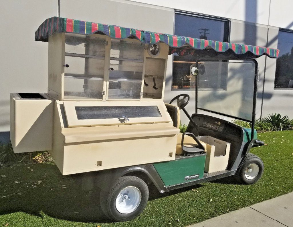 good shape 2013 Ezgo Gas Beverage Drink Golf Cart