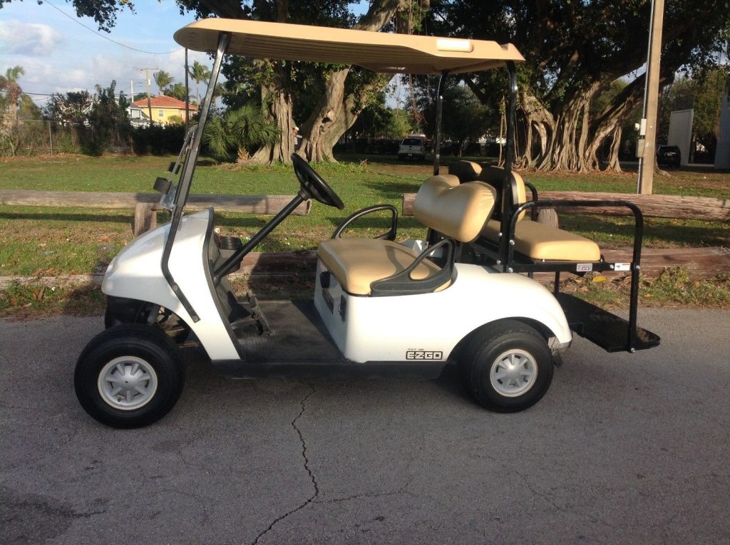 good shape 2014 EZGO 48v golf cart