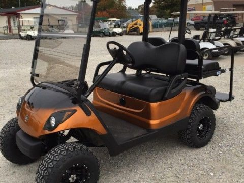 lifted 2012 Yamaha 48v Electric golf cart for sale