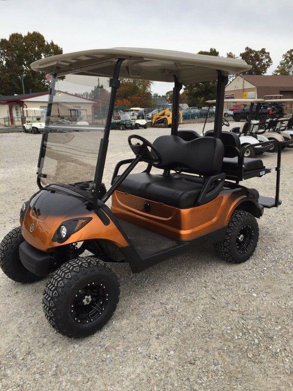 lifted 2012 Yamaha 48v Electric golf cart
