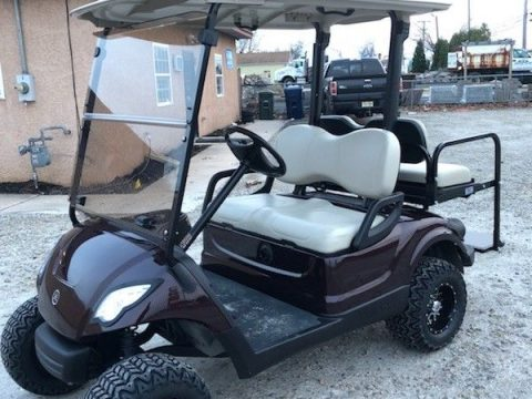 lifted 2013 Yamaha 48v Electric golf cart for sale