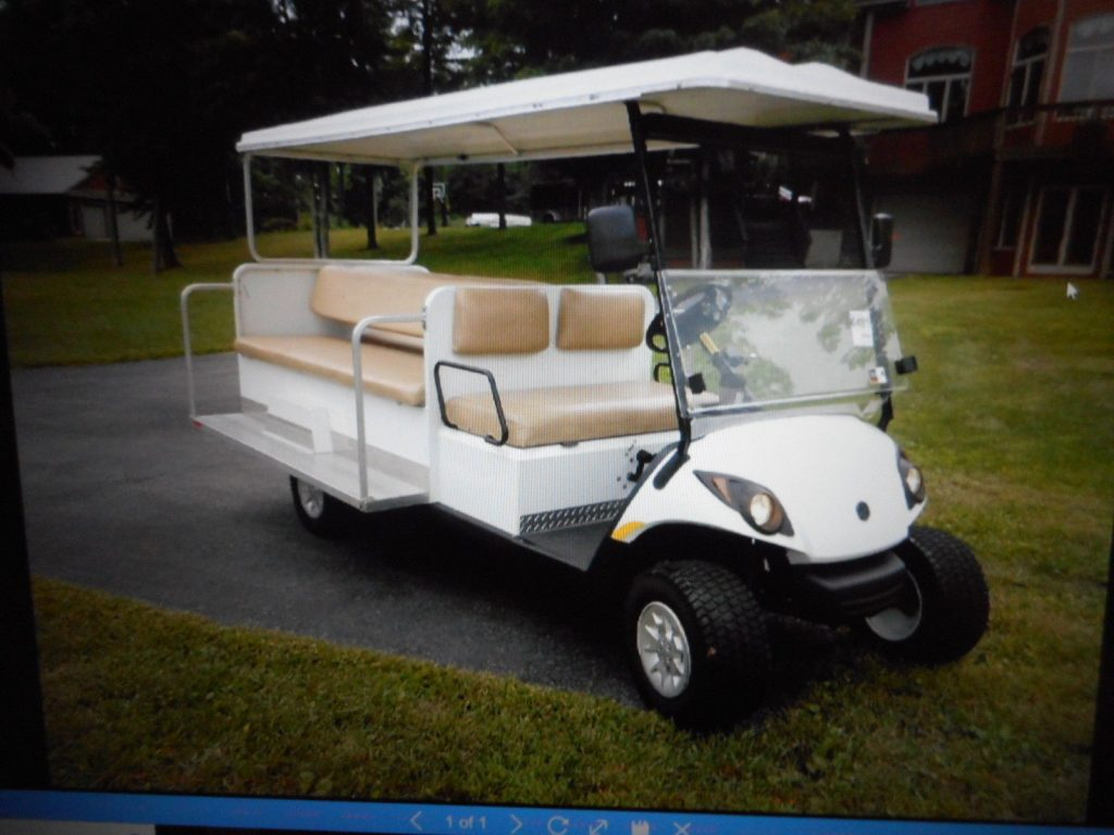 Stretched 2012 Yamaha golf cart