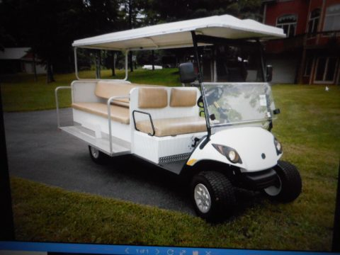 Stretched 2012 Yamaha golf cart for sale