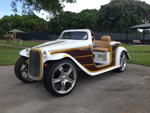 custom 2016 ACG Woody California Roadster Golf Cart for sale