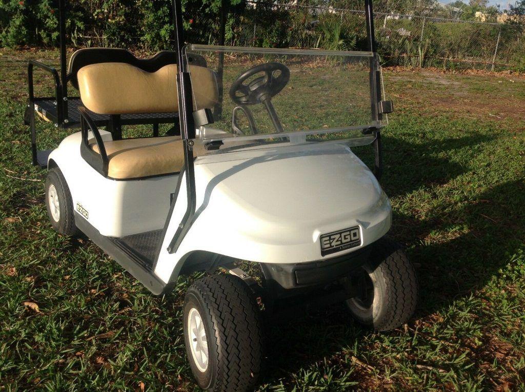 good shape 2015 EZGO 48v golf cart