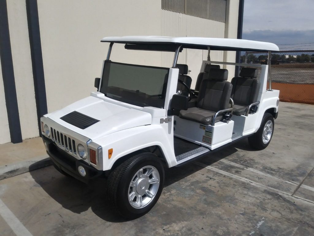 low mileage 2015 ACG Golf Cart