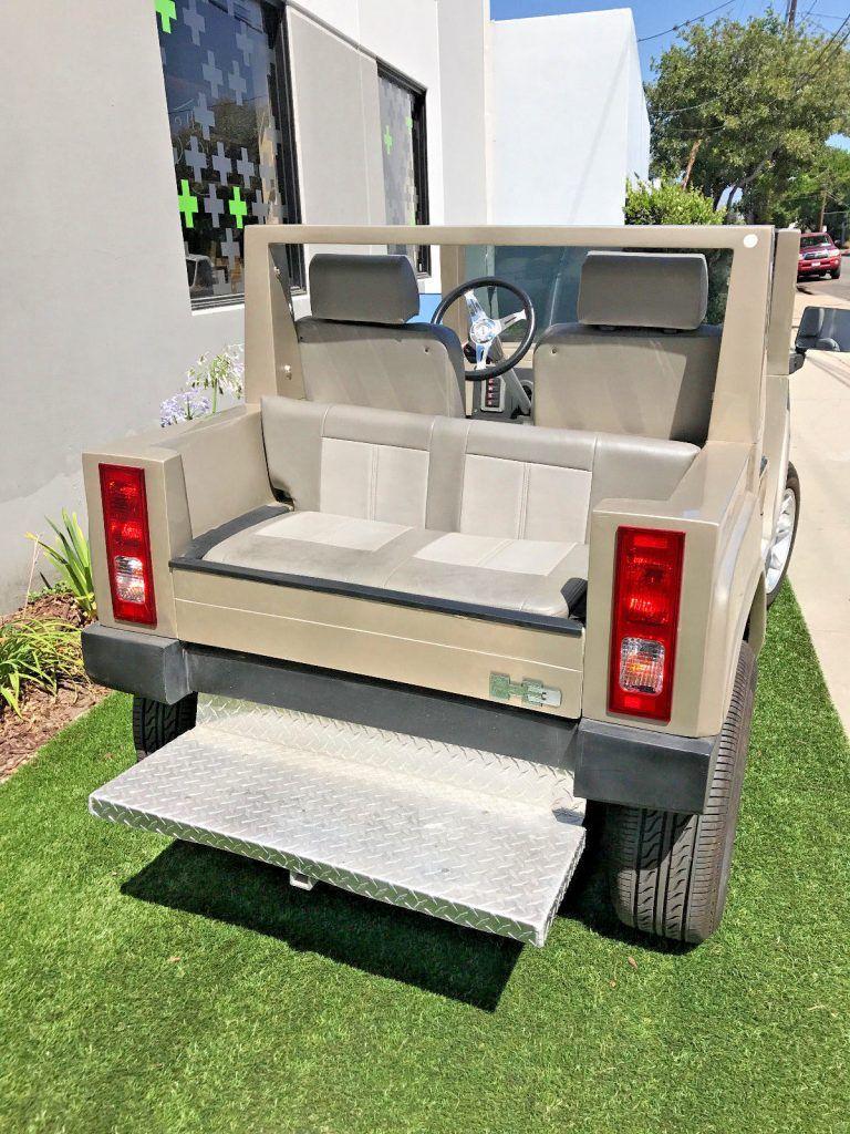 low miles 2015 ACG Golf Cart