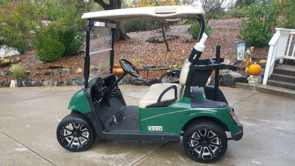 nice 2015 EZGO golf cart