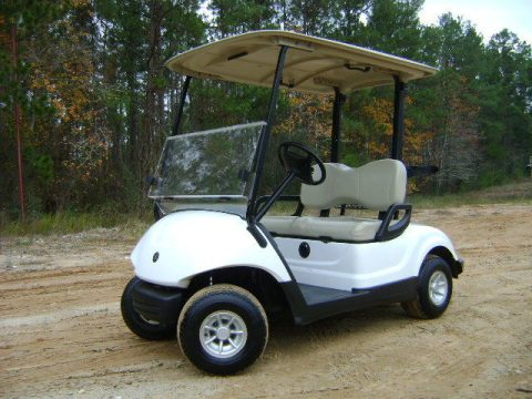 nice 2015 Yamaha Drive 48V Electric Golf Cart for sale