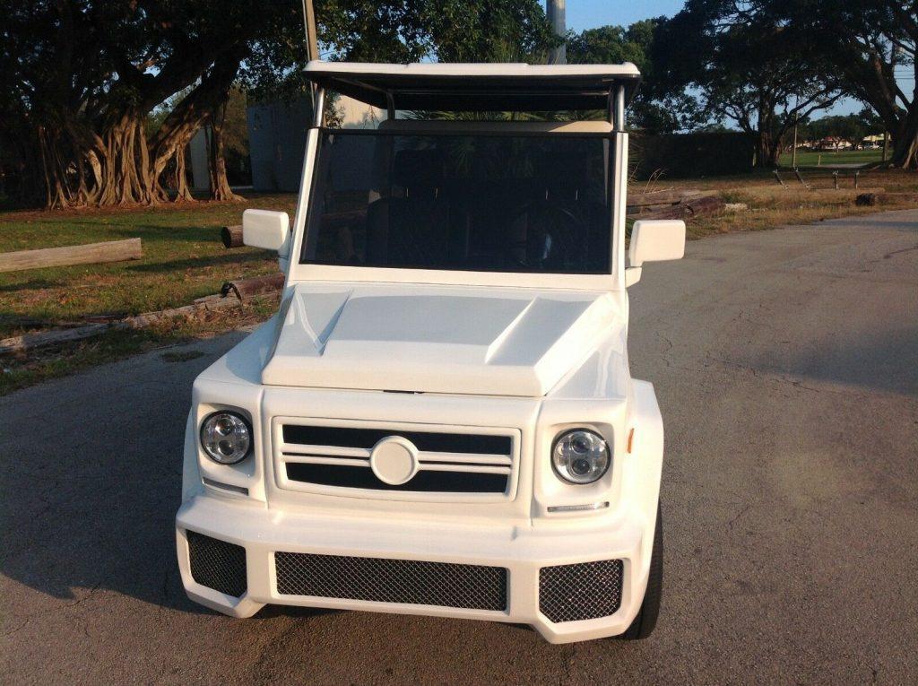 custom bodied 2017 acg E Wagon Golf Cart