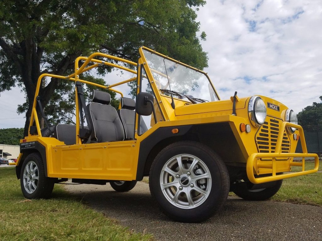 custom bodied 2017 acg Mini Moke Golf Cart
