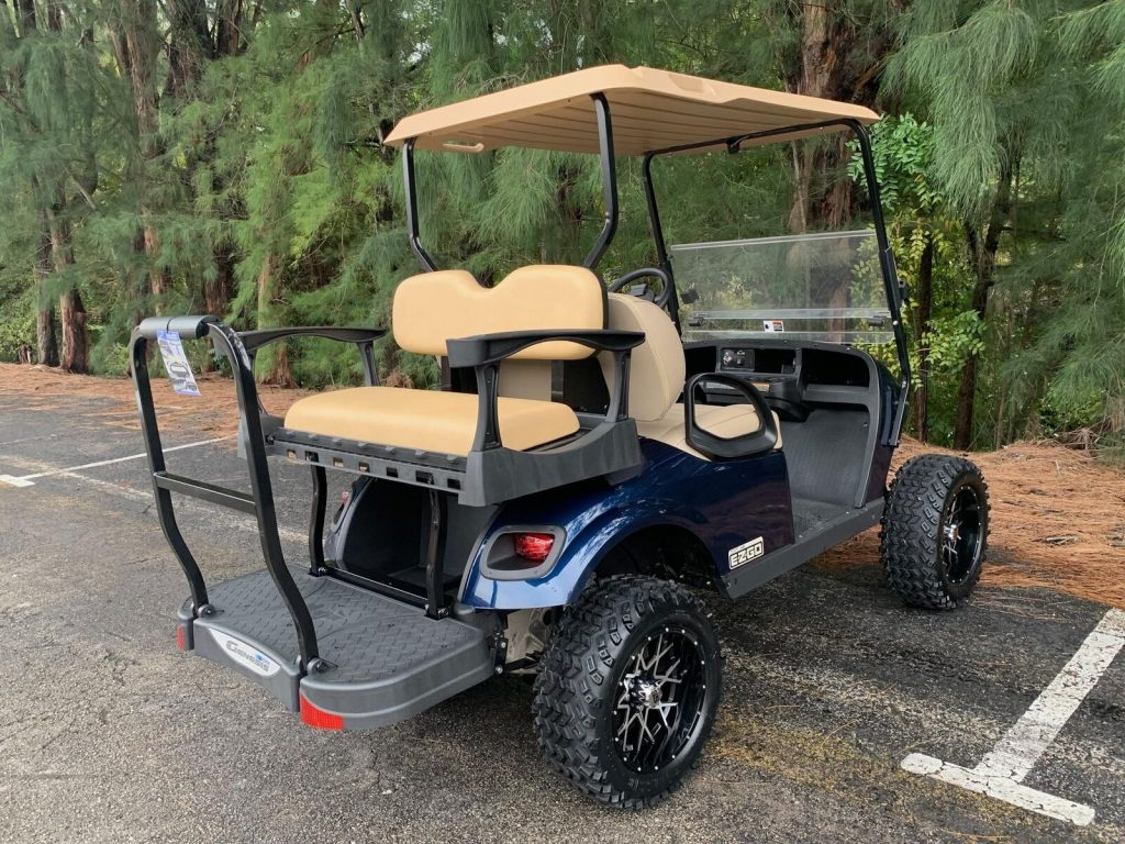 great shape 2017 EZGO limited golf cart