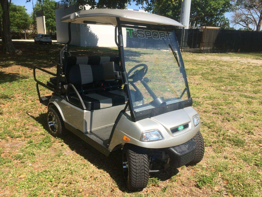 well equipped 2017 acg T Sport Golf Cart