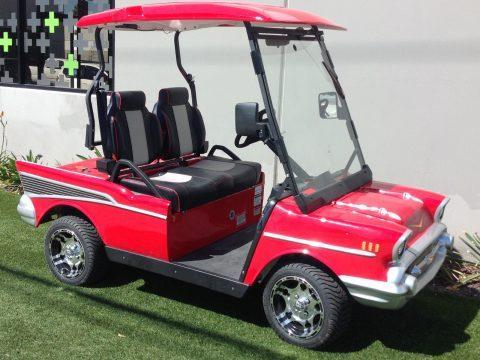 57 Chevy custom 2018 Golf Cart for sale