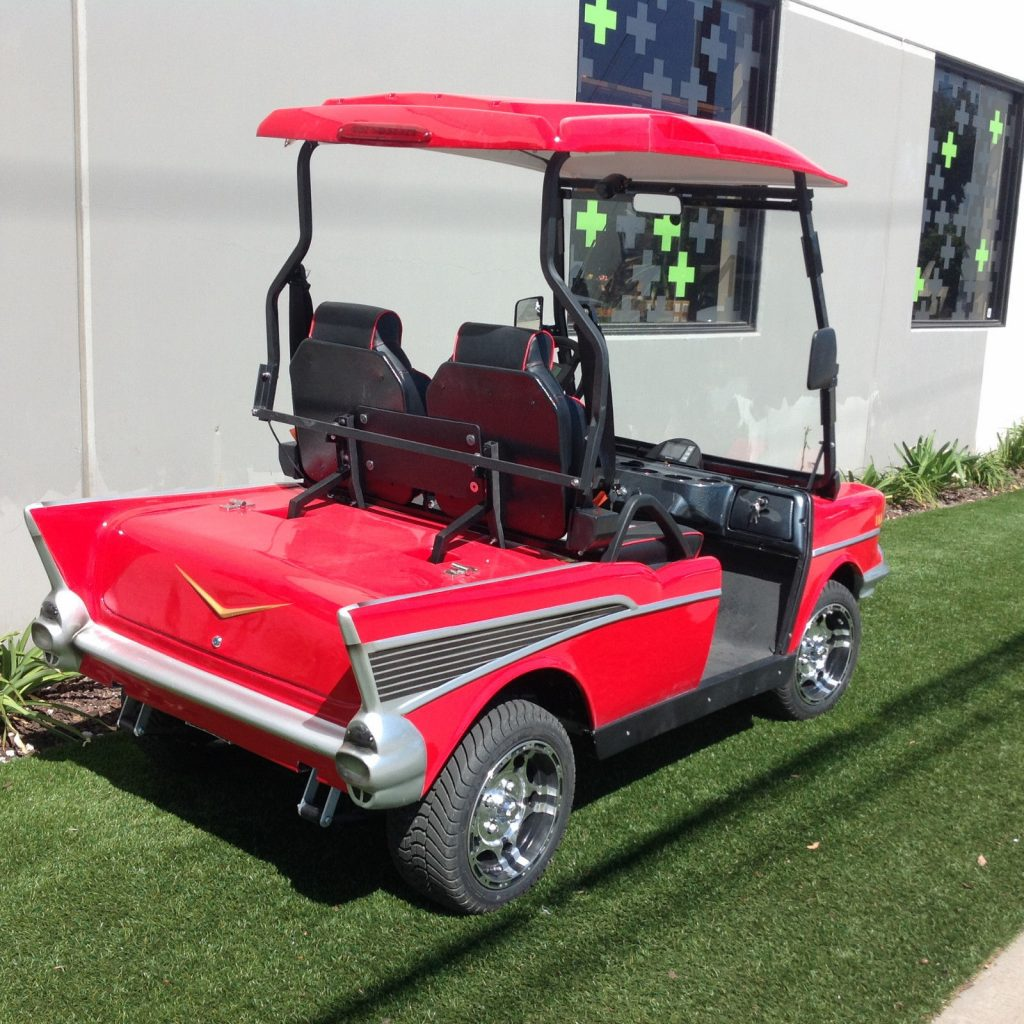 57 Chevy custom 2018 Golf Cart
