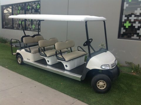 8 Passenger limo 2010 EZGO RXV golf cart for sale