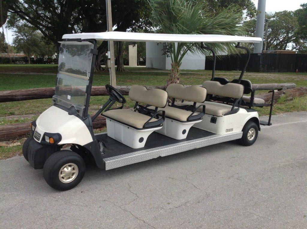 8 Passenger seat limo 2010 EZGO RXV golf cart