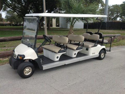 8 Passenger seat limo 2010 EZGO RXV golf cart for sale