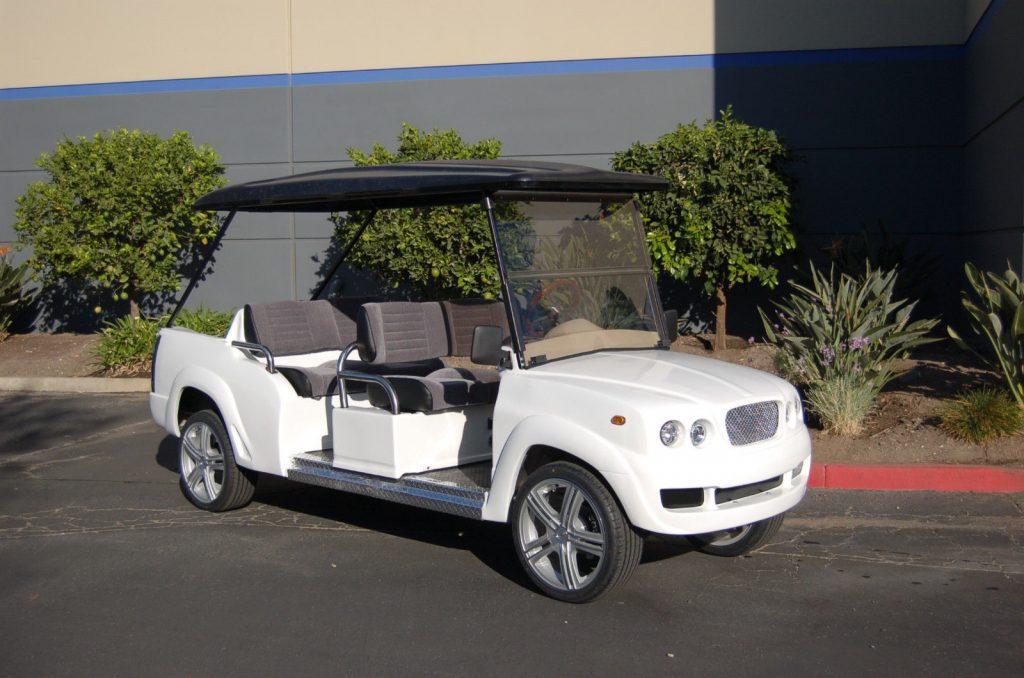 custom 2018 Bentley Luxury Golf Cart Car