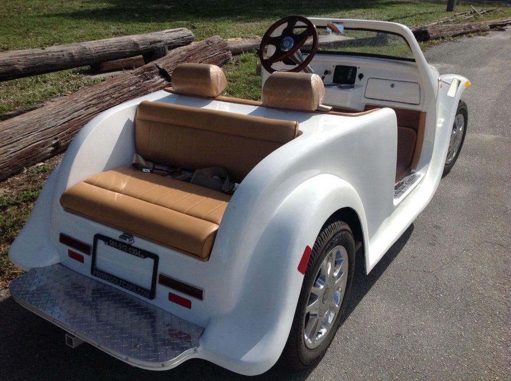 custom body 2018 acg California Roadster Golf Cart