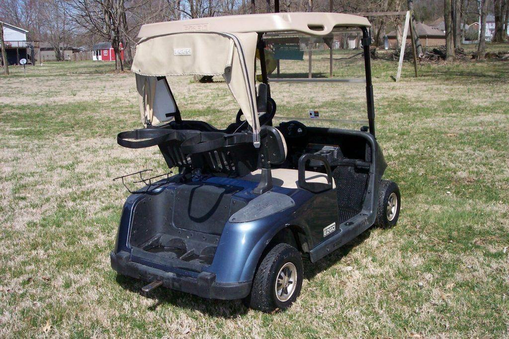 new Trojan Batteries 2009 EZGO rxv golf cart