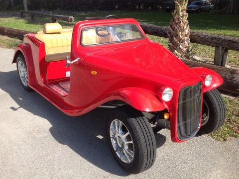 sharp 2018 acg California Roadster Golf Cart for sale