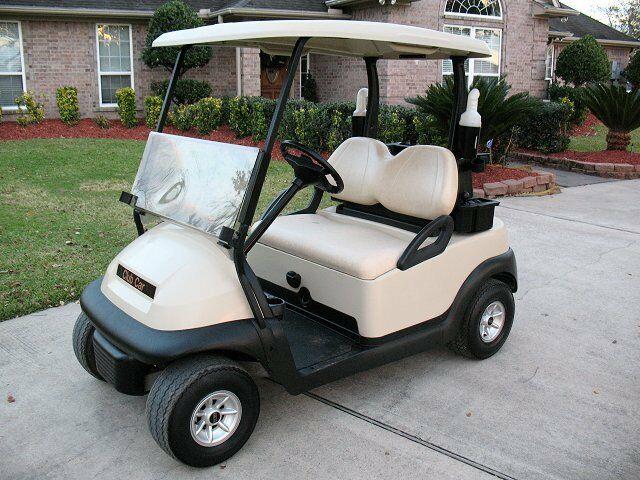 good shape 2014 Club Car Precedent golf cart