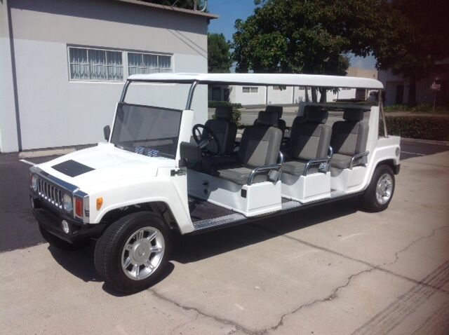 great shape 2015 ACG limousine Golf Cart