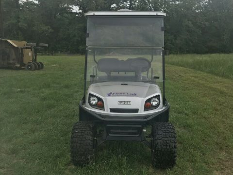lightly driven 2014 EZGO golf cart for sale