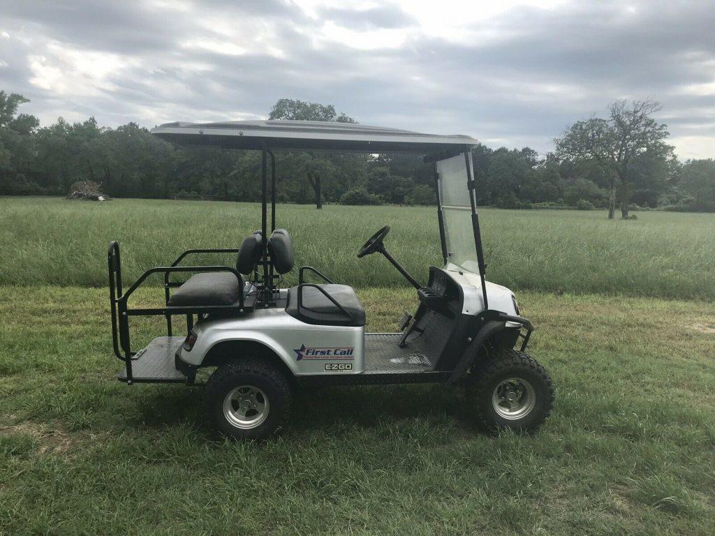 lightly driven 2014 EZGO golf cart