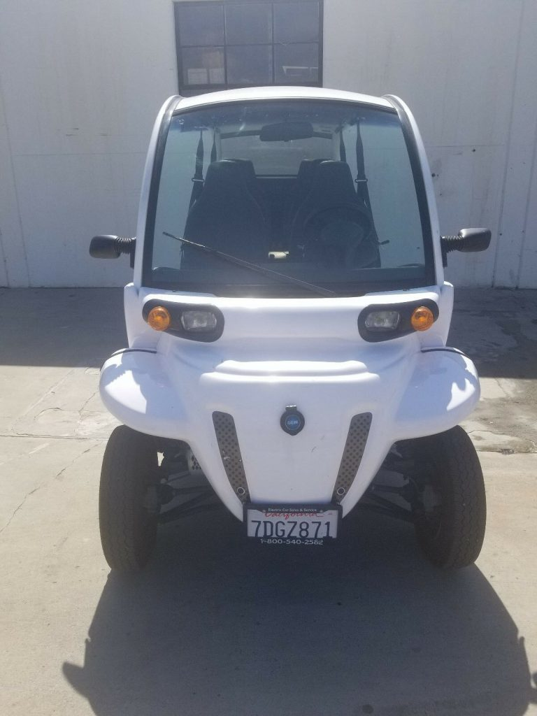ready to go 2015 Polaris Gem E6 Utility GOLF CART