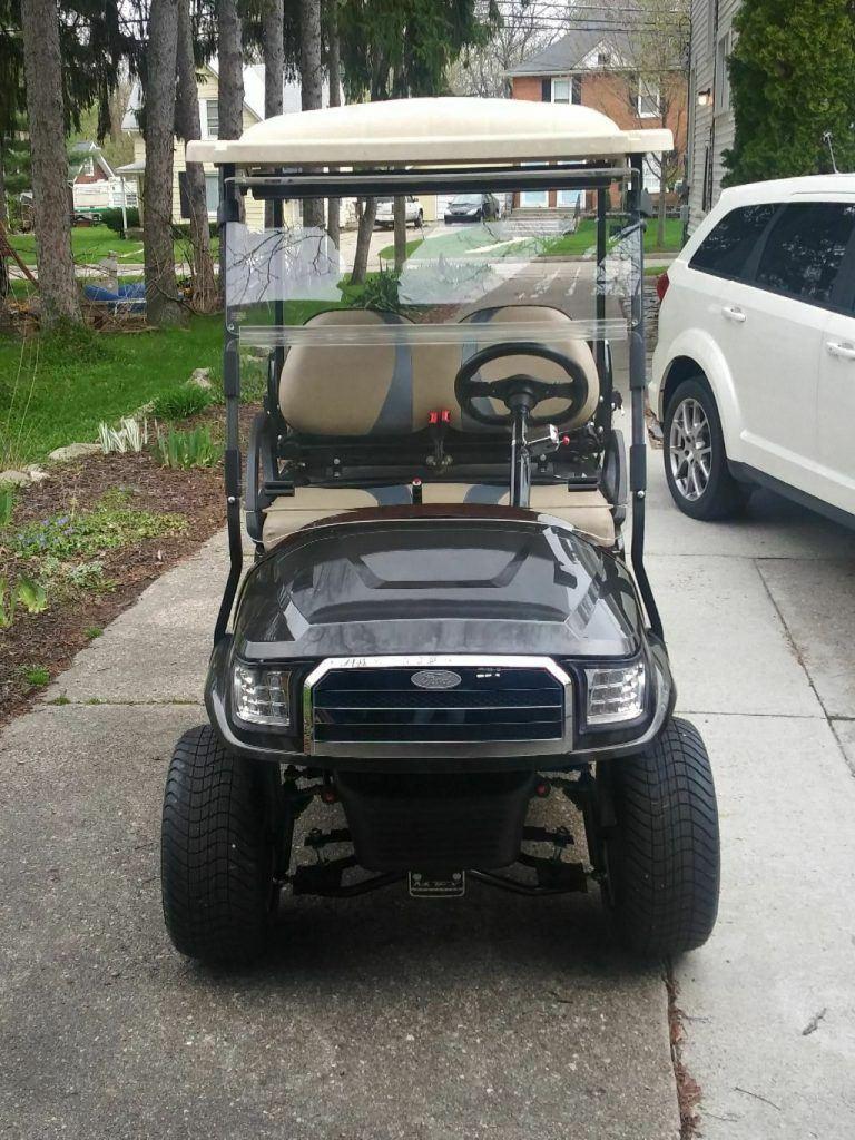 restored 2013 Club Car golf cart
