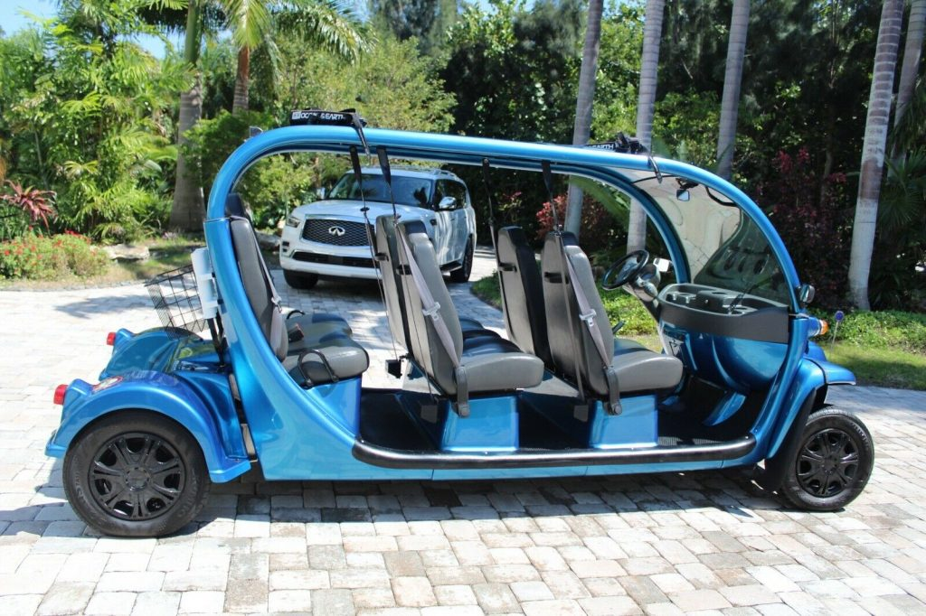 Unique and Totally Custom 2011 GEM golf cart