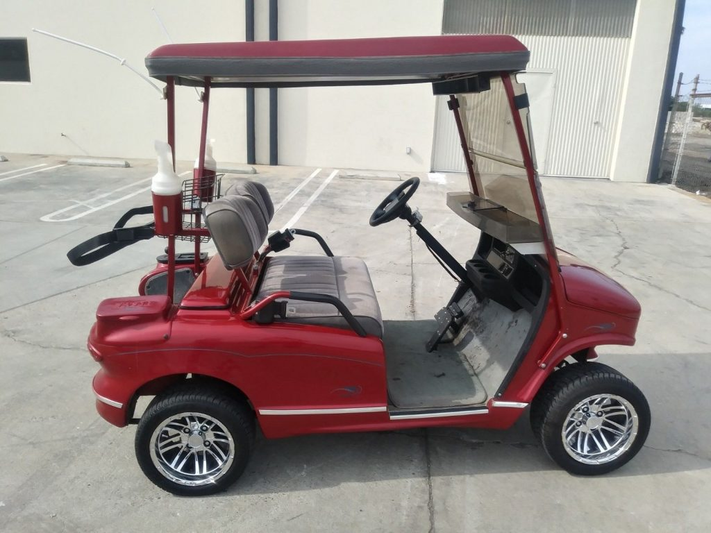 very nice 2011 Western golf cart