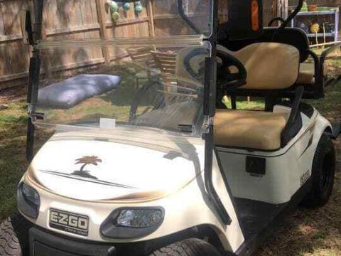 extra charger 2016 EZGO golf cart for sale